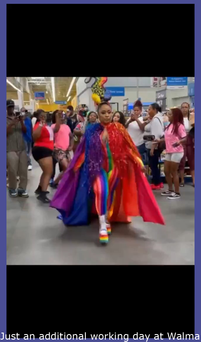 Just another day at Walmart…