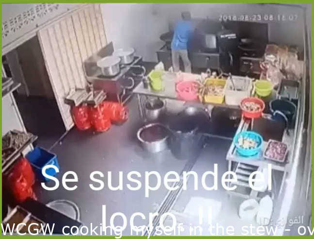 WCGW cooking myself in the stew