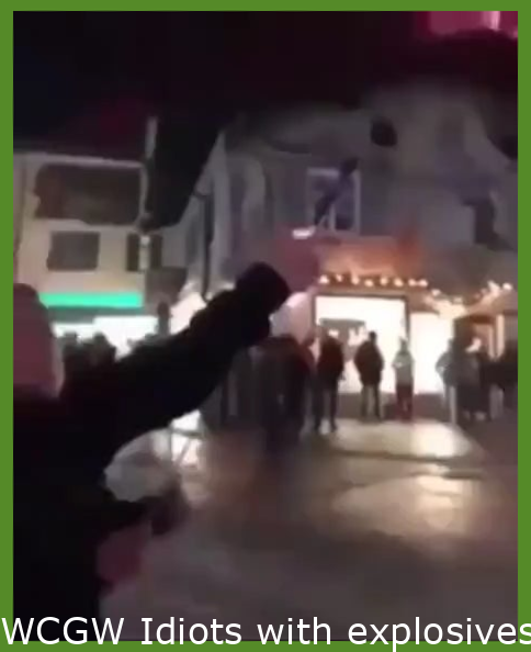WCGW Idiots with explosives