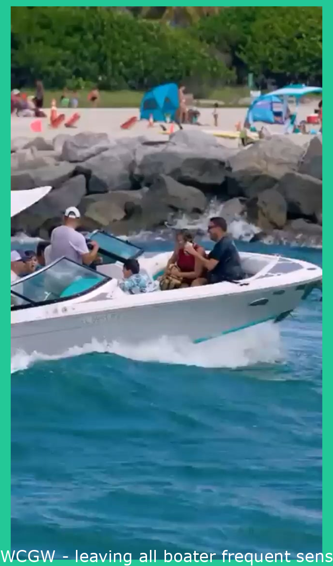 WCGW - leaving all boater common sense at the dock (re-upload)