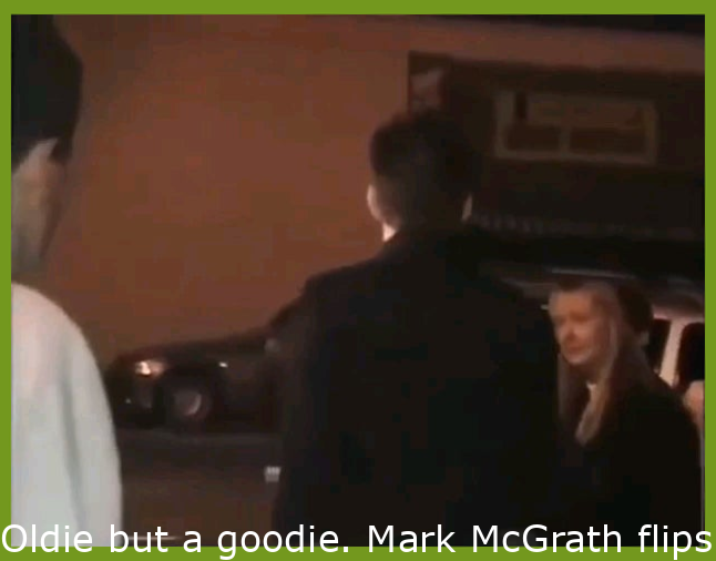"""Oldie but a goodie. Mark McGrath flips out after being called """"Sugar Gay"""""""