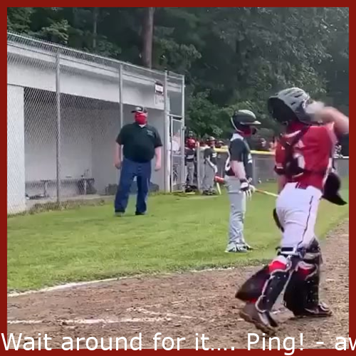 Wait for it…. Ping!