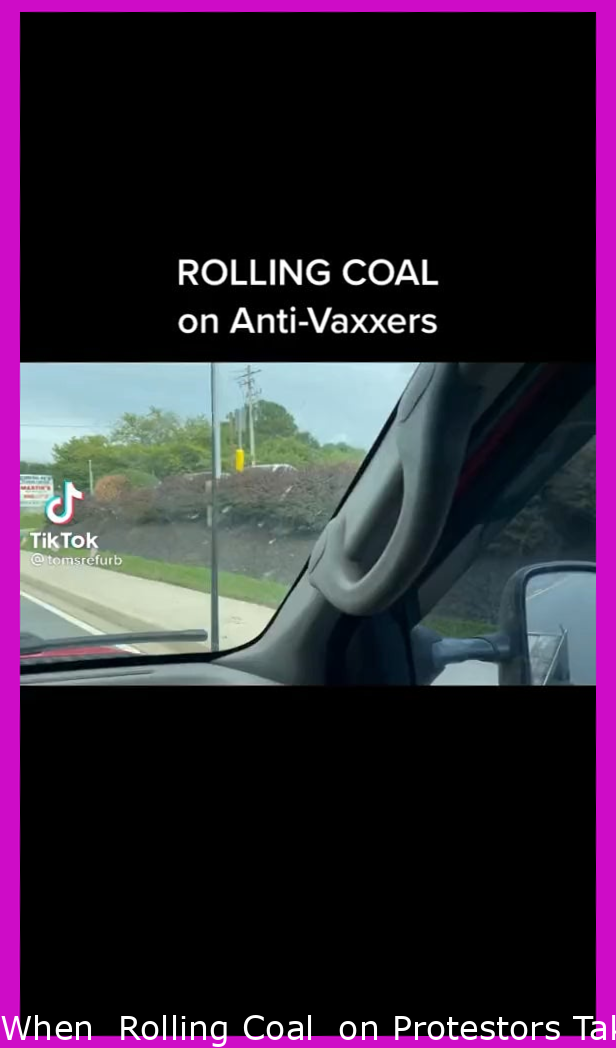"""When """"Rolling Coal"""" on Protestors Takes a Dramatic Turn"""