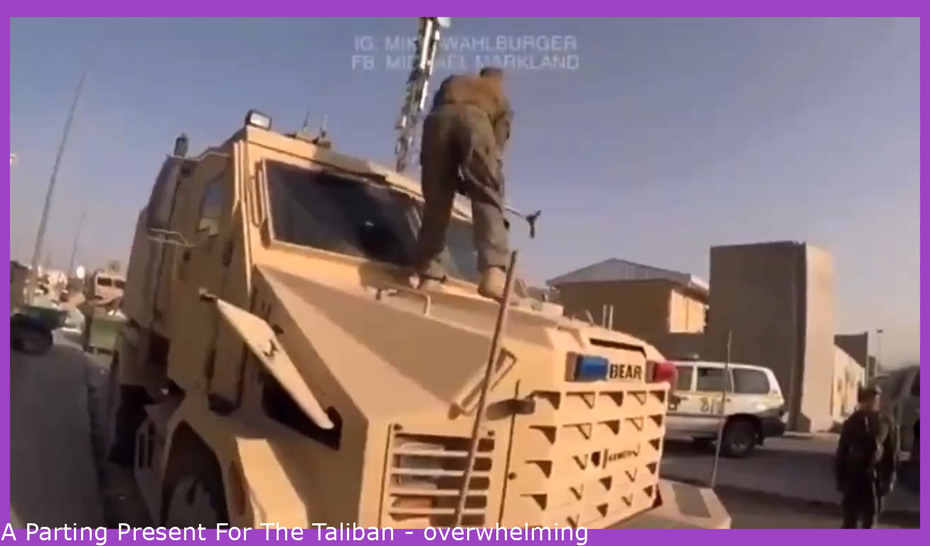 A Parting Gift For The Taliban