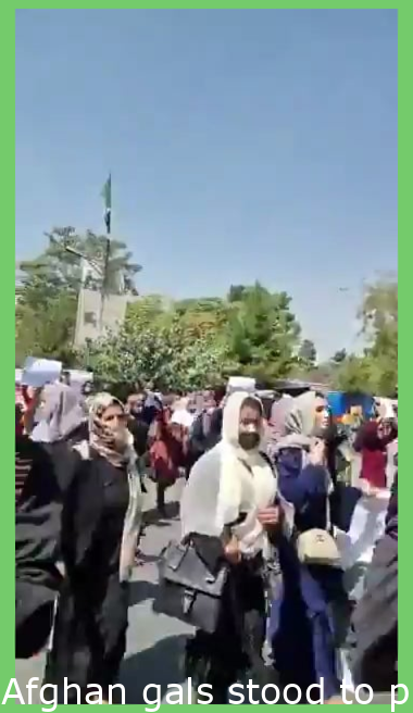Afghan women stood to save culture,history,freedom & sovereignty of Afghanistan. These are not just visuals but a symbol of women power, a symbol of biggest resistance terrorism ever faced, & a slap on silent guardians of human rights.