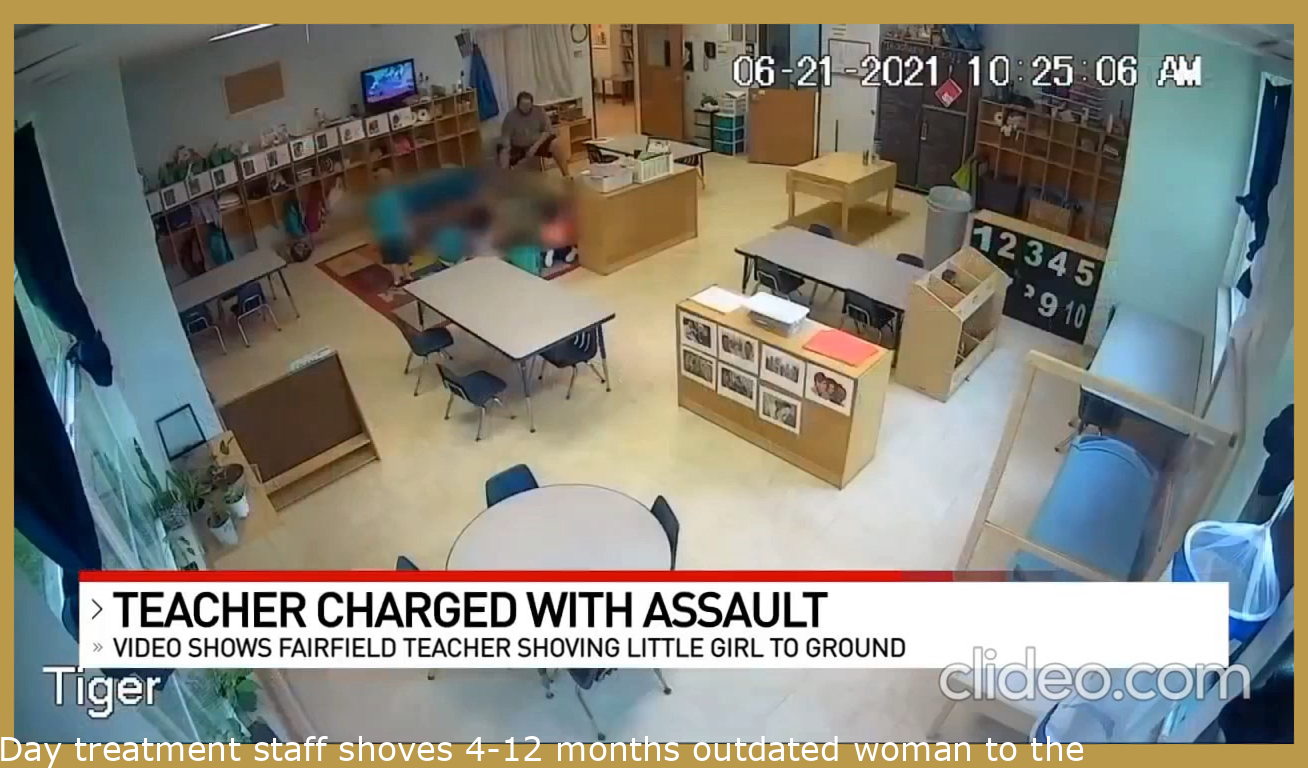 Day care employee shoves 4-year old girl to the ground during sing-along