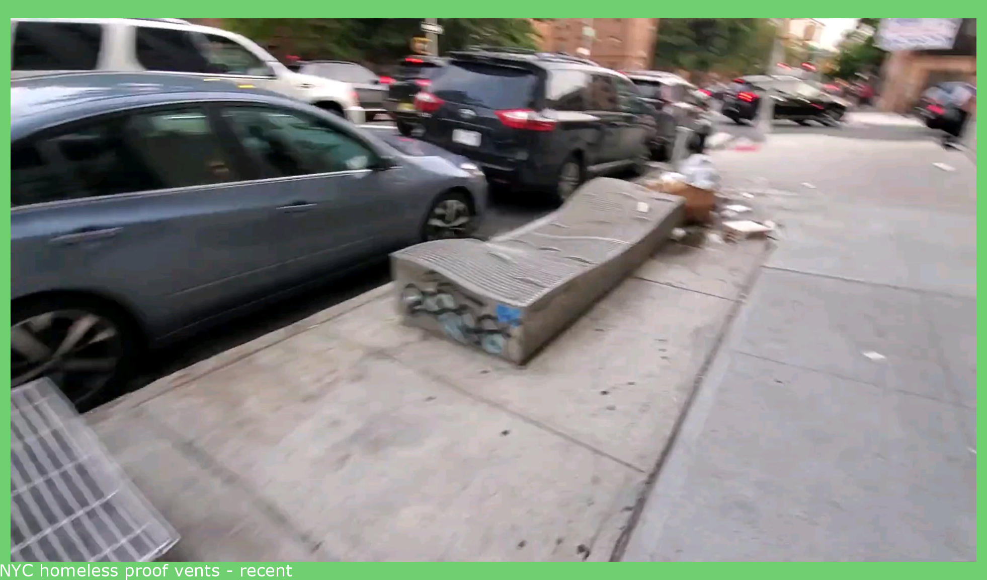 NYC homeless proof vents