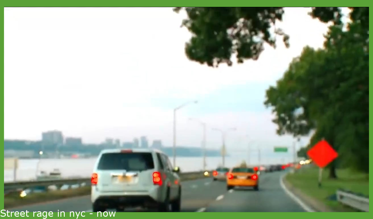Road rage in nyc