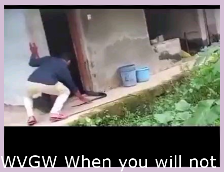 WVGW When you don't know what you're handling.