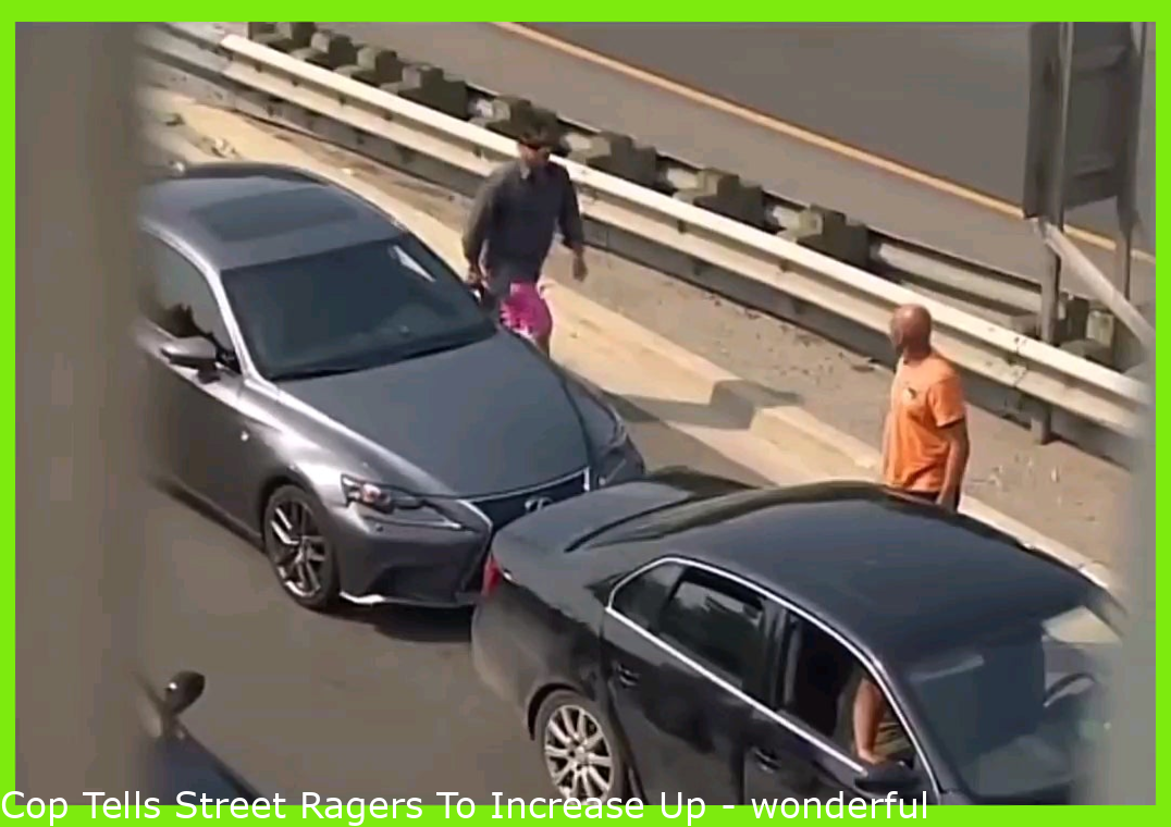 Cop Tells Road Ragers To Grow Up