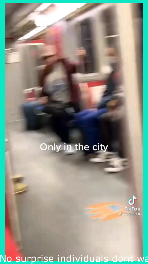 No wonder people dont want to take the subway in Toronto anymore