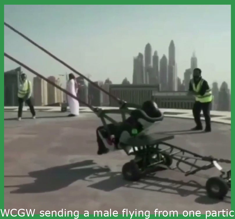 WCGW sending a man flying from one building to another
