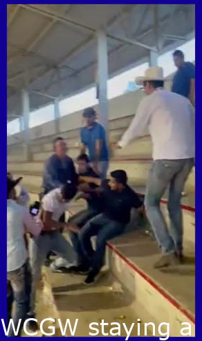 WCGW being a peacemaker yet kicking the other guy